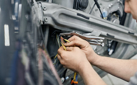 BMW Window Regulator Repair