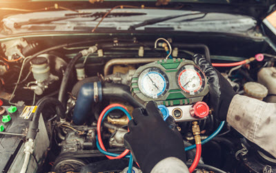 BMW Air Conditioning System Servicing